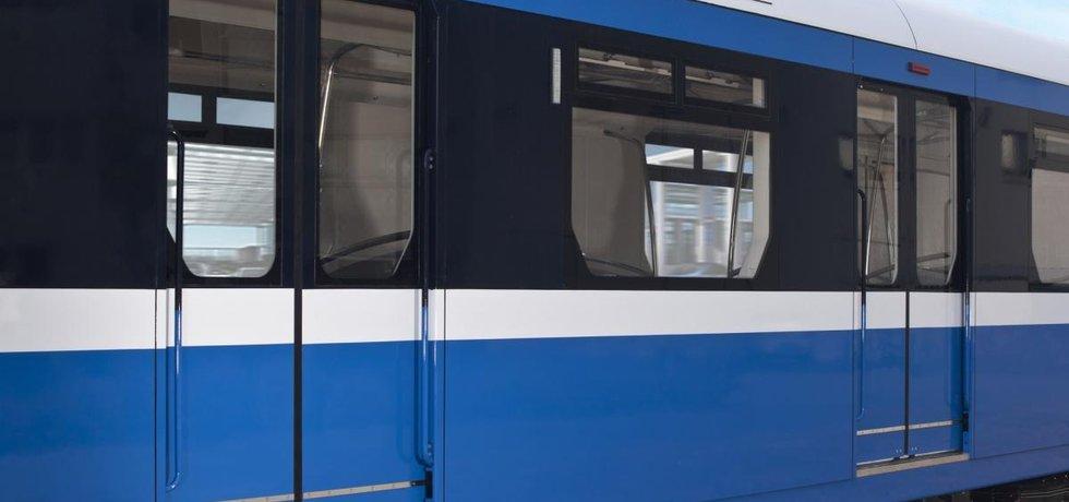 Metro pro Petrohrad od Škody Transportation (ilustrační foto)