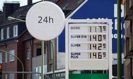 Ceny nafty a benzínu v Německu, ilustrační foto