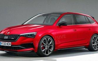 Takto by podle britského Autocaru mohla vypadat Škoda Scala RS