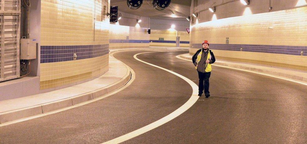 Tunel Blanka (Autor: ČTK)