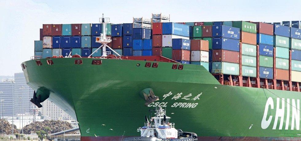 Čínský export - ilustrační foto
