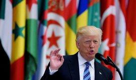Donald Trump na arabsko-americkém summitu v Rijádu, ilustrační foto