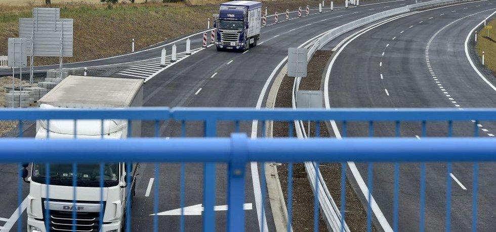 Úsek dálnice D7