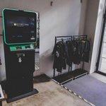 Automat na kryptoměny v Bitcoin Coffee.