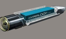 vizualizace nákladní kapsle pro hyperloop