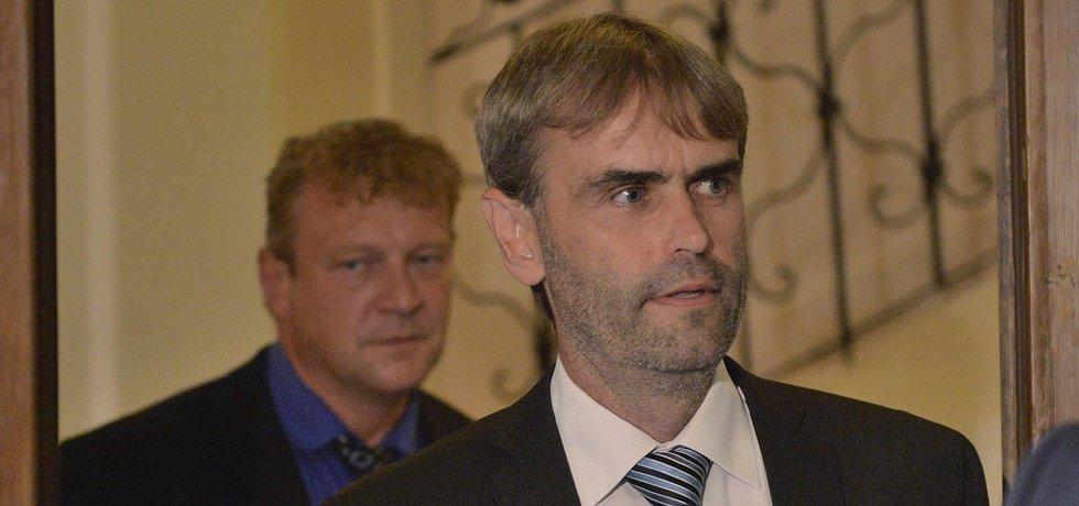 Robert Šlachta podával zprávu o reformě policie vyšetřovací komisi.