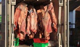 Přeprava masa, ilustrační foto