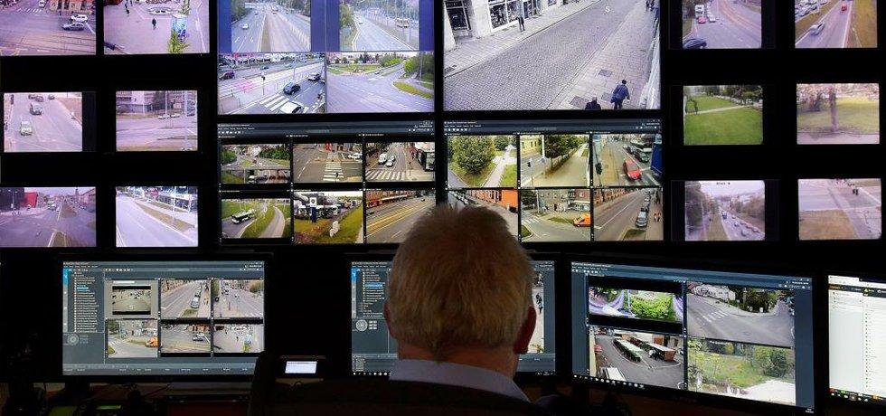 Městský kamerový systém v Plzni