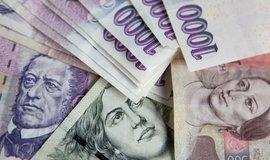 Peníze, ilustrační snímek
