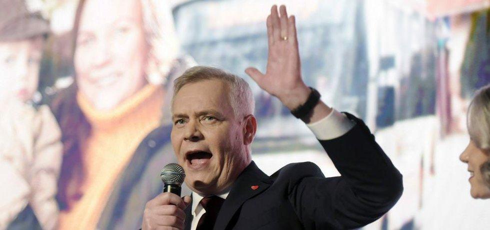 Šéf finských sociálních demokratů Antti Rinne