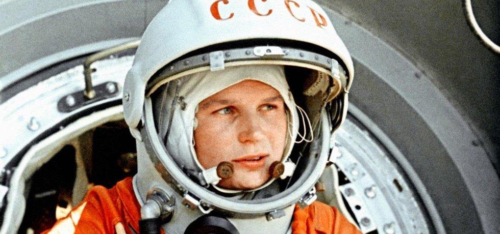 Valentina Těreškovová, první žena ve vesmíru. Ilustrační foto