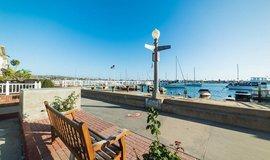 Ostrov Balboa v jižní Kalifornii, ilustrační foto