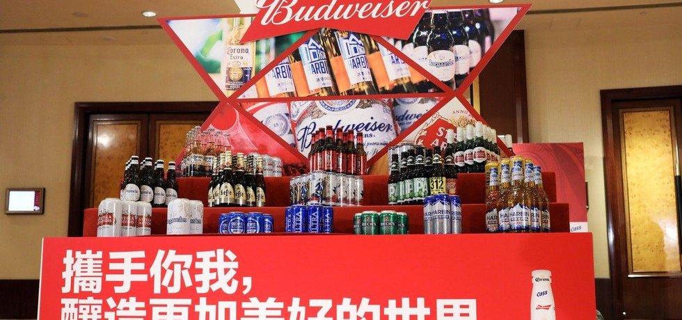 Globální pivovarská jednička Anheuser-Busch InBev, ilustrační foto