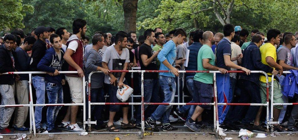 Žadatelé o azyl v Berlíně