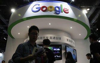 Google v Číně, ilustrační foto