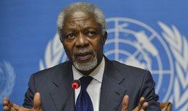 Bvalý generální tajemník OSNKofi Annan