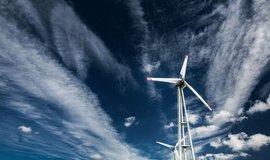 Větrná elektrárna, ilustrační foto