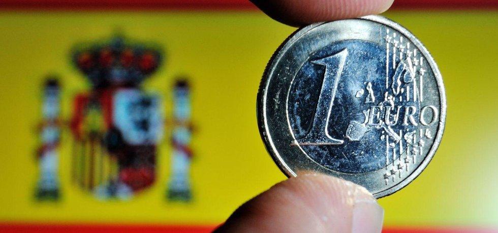 Španělsko, euro