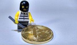 Krádež bitcoinů, ilustrační foto