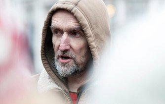 Britský klimatický aktivista Roger Hallam, ilustrační foto