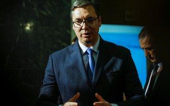 Srbský premiér Vučič