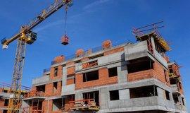Stavební firmy v Česku do konce května zahájily stavbu 3231 bytů v bytových domech, meziročně o 44,7 procenta více. Ilustrační foto