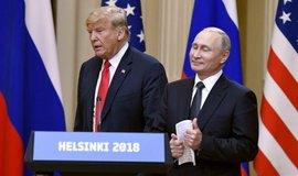 Americký prezident Donald Trump se svým ruským protějškem Vladimirem Putinem, ilustrační foto