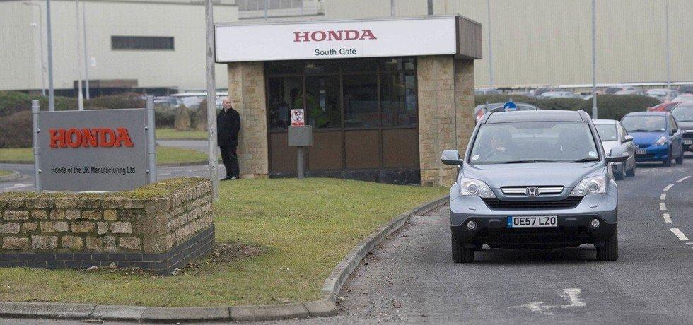 Továrna Hondy v britském Swindonu