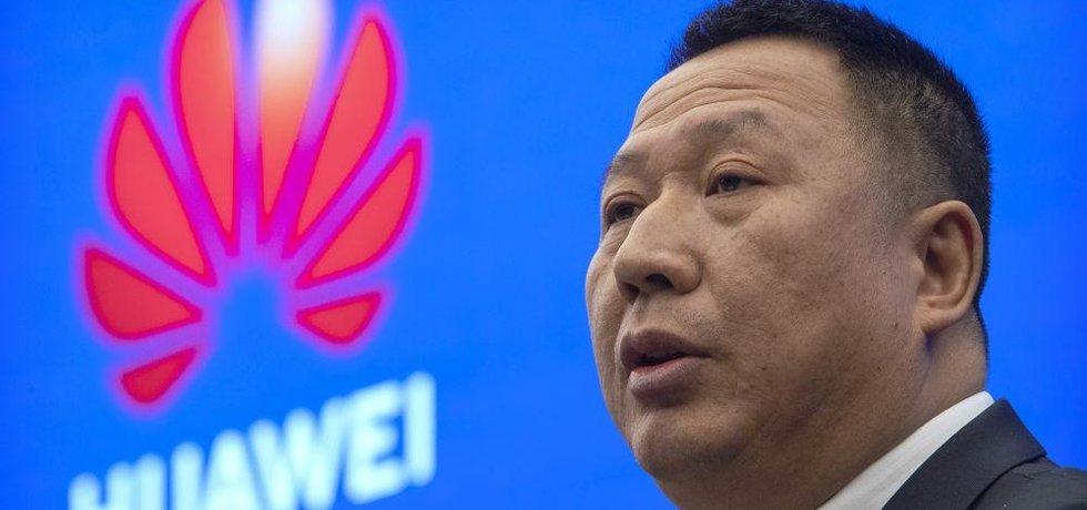 Šéf právního oddělení společnosti Huawei Song Liuping