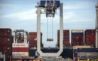 Americký přístav Savannah, ilustrační foto