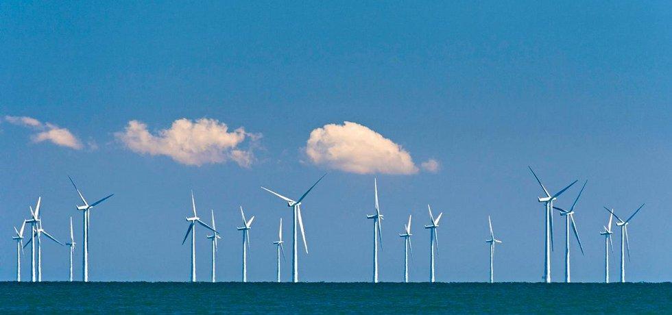 Větrné elektrárny,
