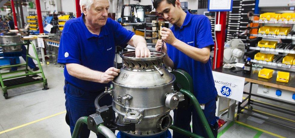 Výroba motoru H80 v pražských Letňanech