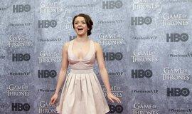 Maisie Williams před premiérou třetí řady (2013) seriálu Hra o trůny