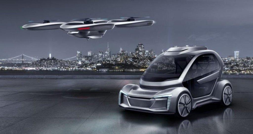 Projekt PopUpNext firem Audi a Airbus.