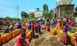 České dary pomáhají lidem v Etiopii