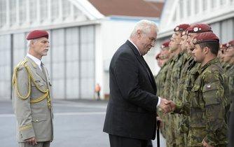 Miloš Zeman a čeští vojáci