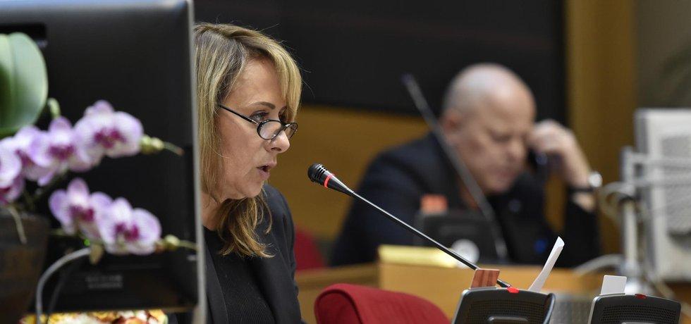 Pražská primátorka Adriana Krnáčová