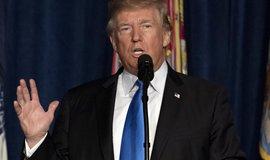 Americký prezident Donald Trump při hodnocení situace v Afghánistánu
