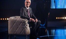 Jiří Drahoš během první prezidentské televizní debaty, kterou vysílala televize Prima