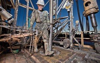 Těžba ropy v kanadské provincii Alberta, ilustrační foto