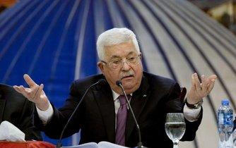 Předseda palestinské samosprávy Mahmúd Abbás