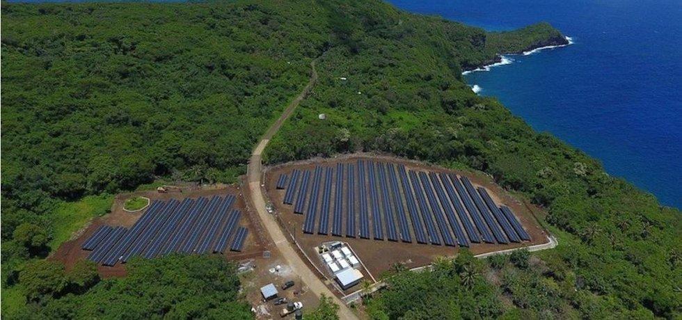 Ostrov Ta'u bude Tesla celý zásobovat energií ze svých solárních panelů
