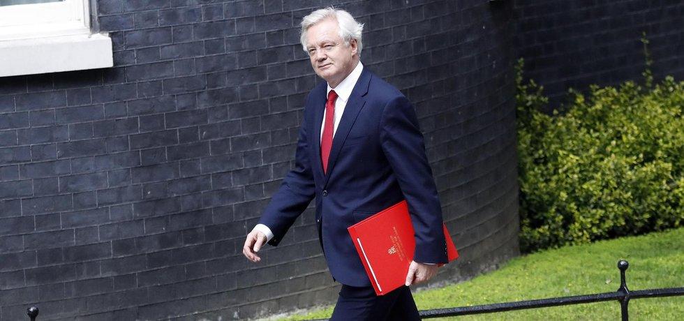 David Davis, britský ministr pro brexit