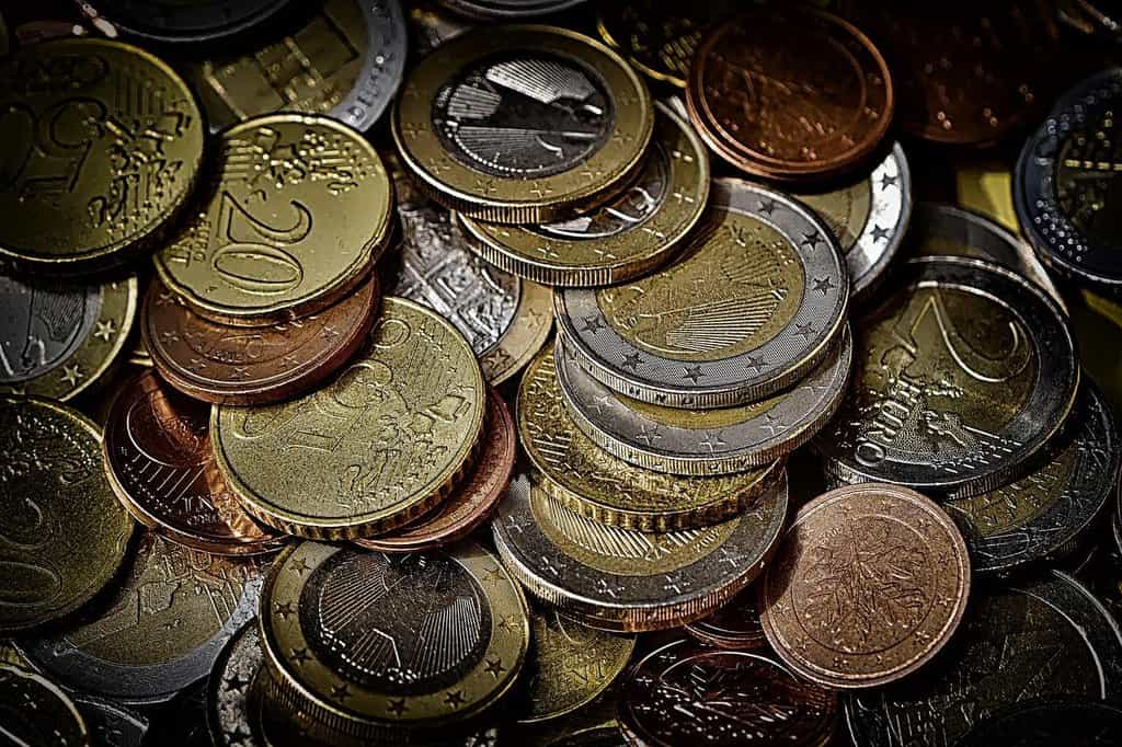 Mince, eura, ilustrační foto