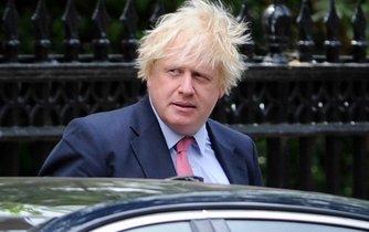 Konzervativní politik Boris Johnson.