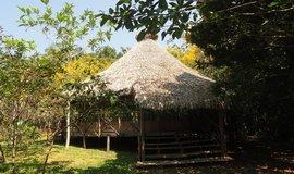 Hotel v džungli v Peru