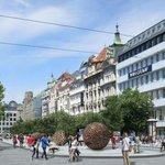 Budoucí podoba spodní části Václavského náměstí podle návrhu Cigler-Marani Architects