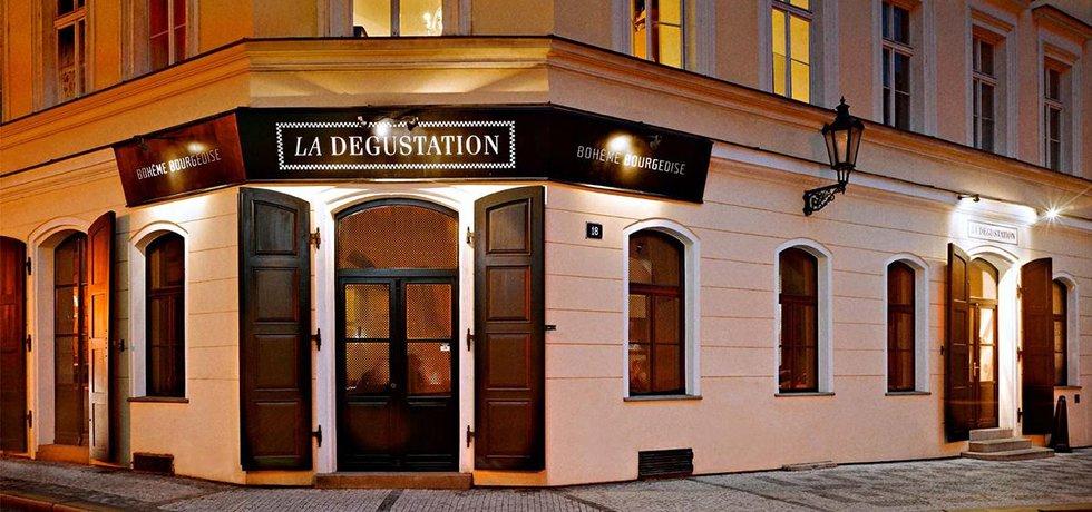 Michelinská restaurace La Degustation Bohême Bourgeoise