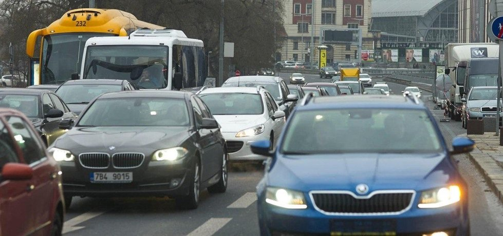 Doprava v Praze, ilustrační foto