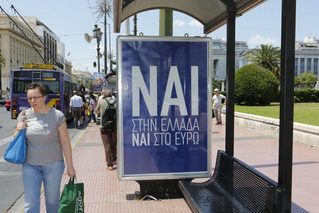 Řecko před referendem